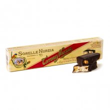 Sorelle Nurzia Soft Chocolate Covered Torrone with Hazelnuts
