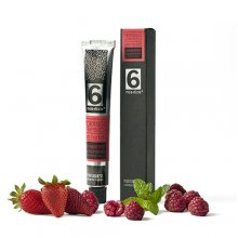 Strawberry Raspberry and Mint Jam Tube