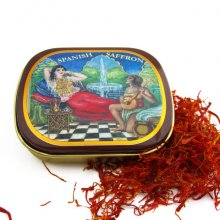 Spanish Saffron Smallest Tin
