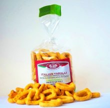 Italian Taralli with Rosemary and Potato 8.8oz