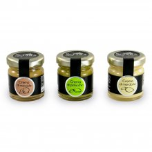 Selection of Spreadable Creams (Pistachio, Almond, Hazelnut)