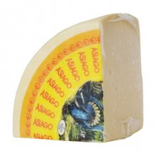 Asiago Pressato Cheese DOP (Quarter Wheel)