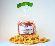 Italian Taralli With Extra Virgin Olive Oil 8.8oz
