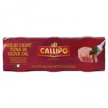 Callipo Tuna in Olive Oil Small Cans