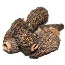 Wild Morels Mushrooms Dried