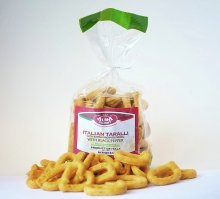 Italian Taralli with Black Pepper 8.8oz