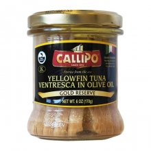 Tuna Ventresca Callipo in Olive Oil Glass Jar