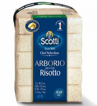 Arborio Risotto Rice Scotti Pack of 5