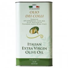 Olio dei Colli Sabina Extra Virgin Olive Oil Tin Can