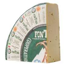 Fontina Val d'Aosta Cheese DOP (Quarter Wheel)
