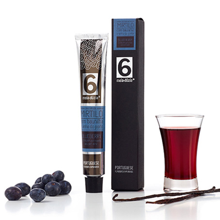 ... » Extra Jam » Jam with Blueberry Vanilla and Port Wine 2.65 Oz