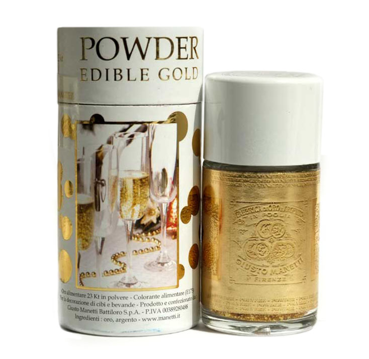 Home » Edible Gold & Silver » Manetti Edible Gold Powder 125mg