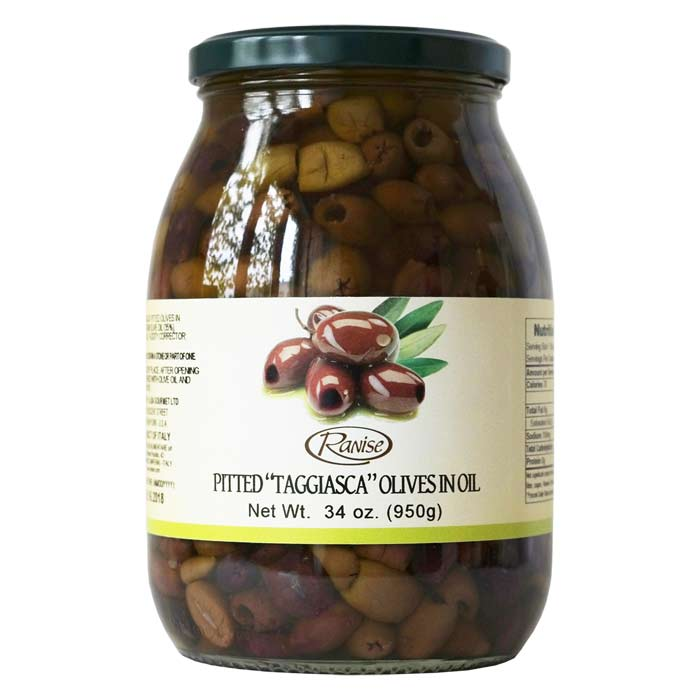 Taggiasca Olives Savor Taggiasca Olives Pitted