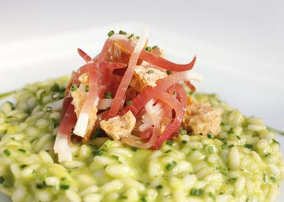 Leek Risotto with Speck | Risotto | Italian Food Recipes