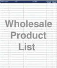 Wholesale Product List